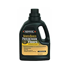 minwax polyurethane water based application