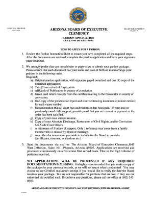 new jersey pardon clemency application form