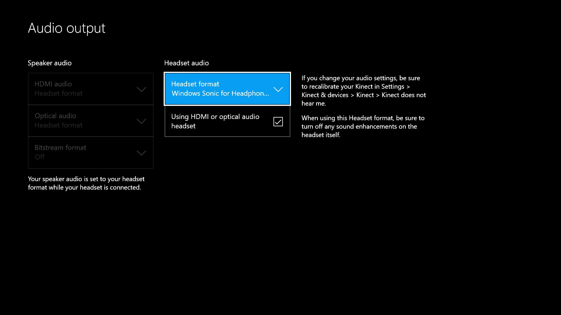 nhl application settings xbox one