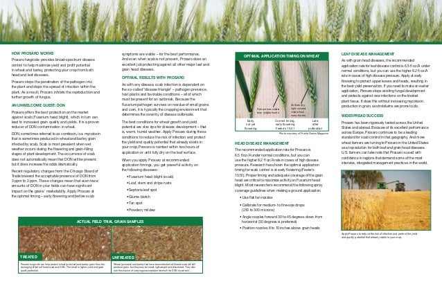 nova fungicide application per acre
