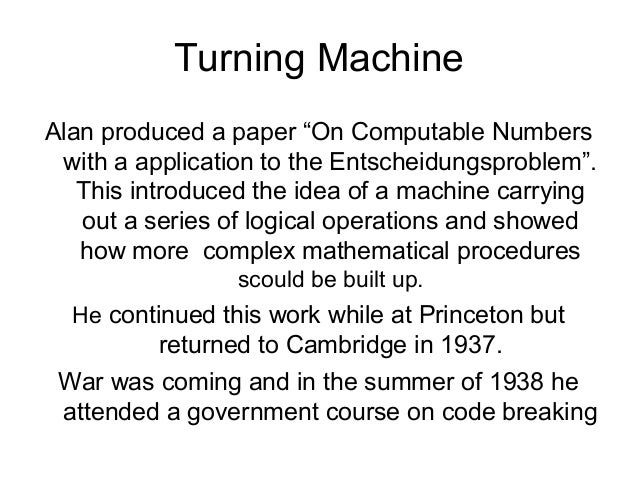 on computable numbers with an application to the entscheidungsproblem bibtex