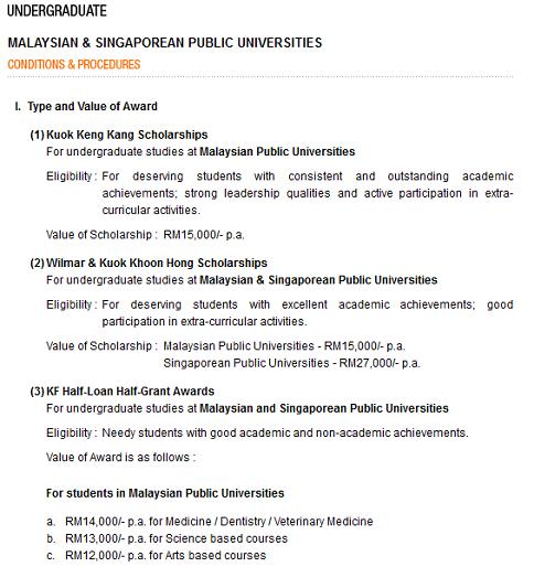 online application for scholarship in studies