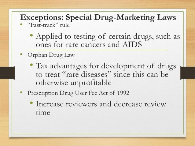 orphan drug application review time