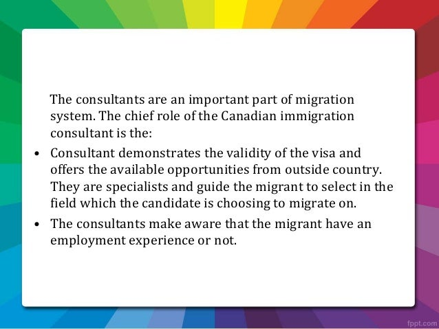 permanent resident canada application immigration consultant montreal