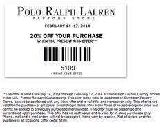 polo ralph lauren outlet online application