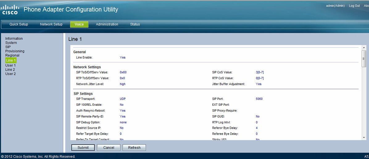 problems with cisco dpc3848 admin application