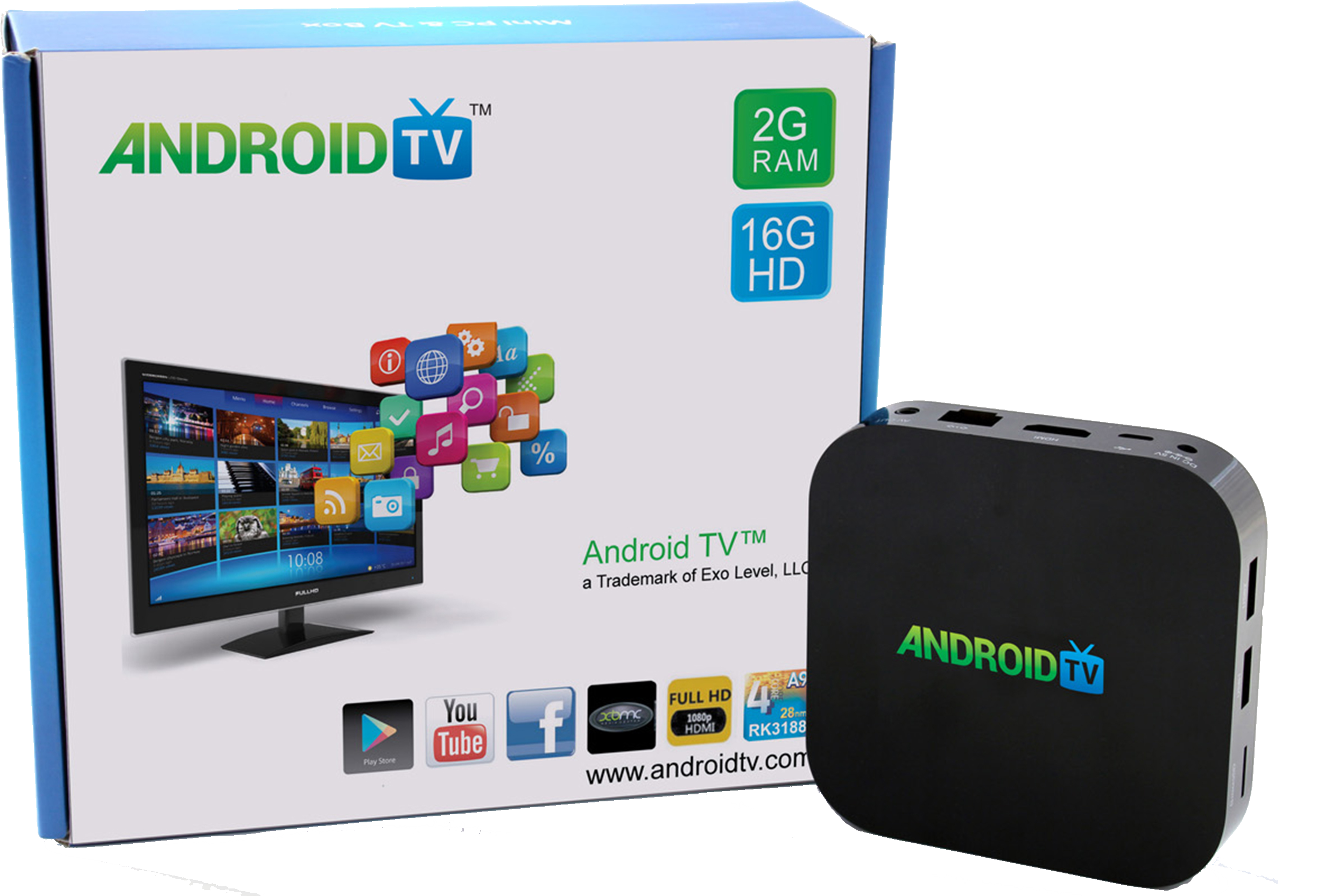 quel application pour android tv