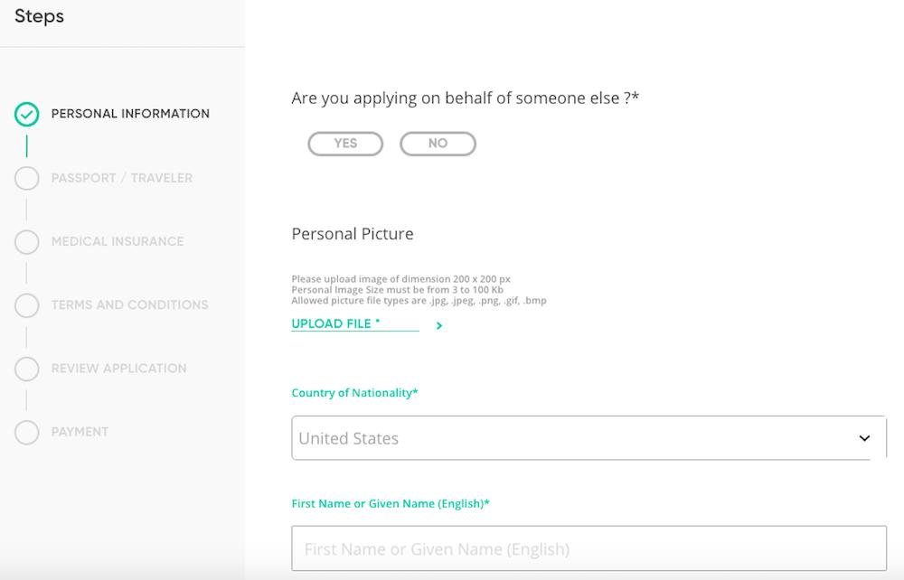 saudi visa application status from india