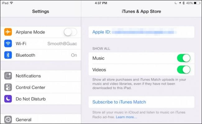 share itunes library with other applications
