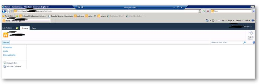 sharepoint 2010 web application property