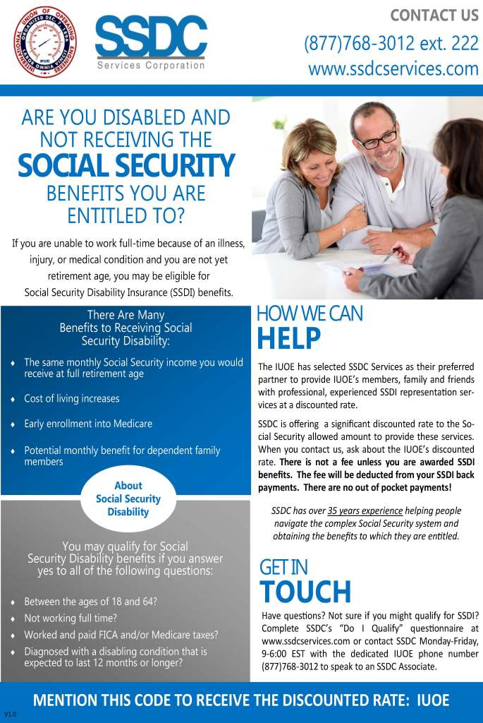 social security disability retirement application