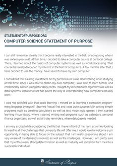 statement of purpose doctoral application