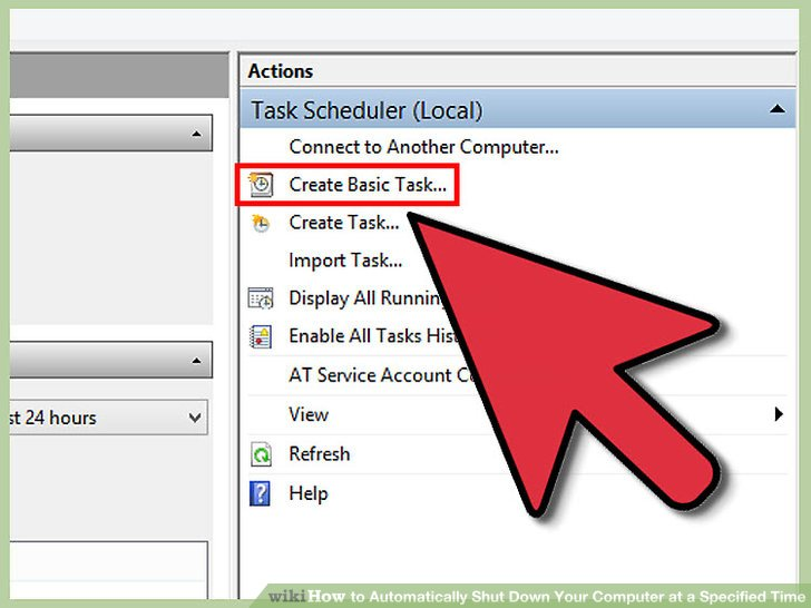task schedule trigger when another application is closed