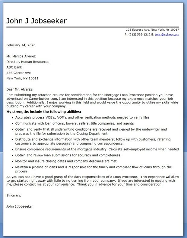 template for letter of employment for mortgage application