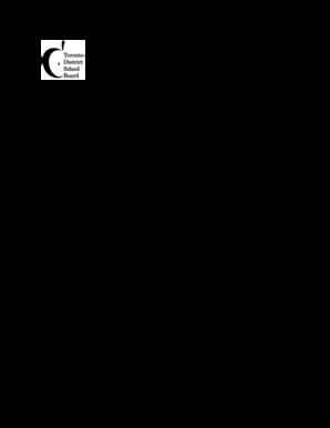 toronto library job application form