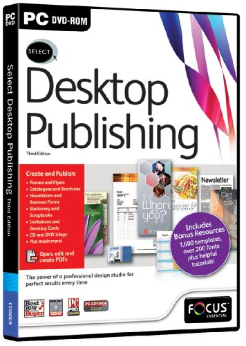 types of desktop publishing application software