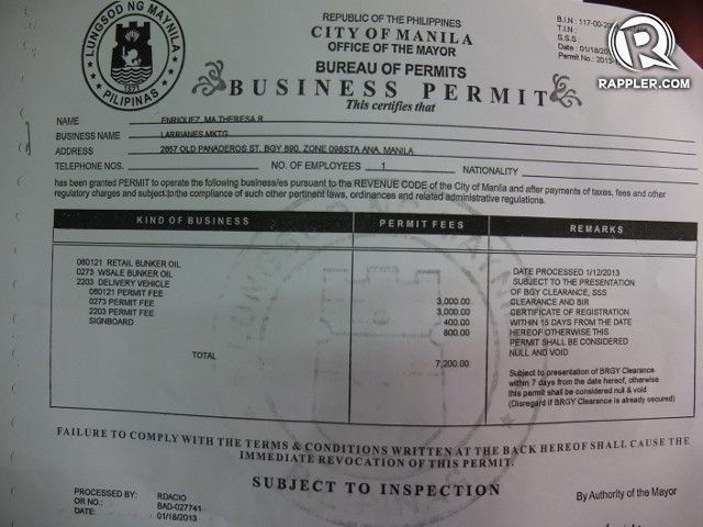ubc permit building application fee paid to