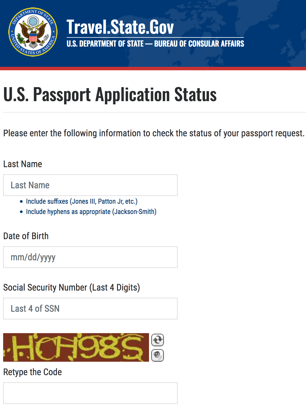 united states passport application ds-82