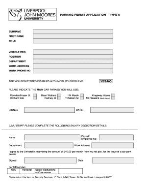 university of liverpool undergraduate application form