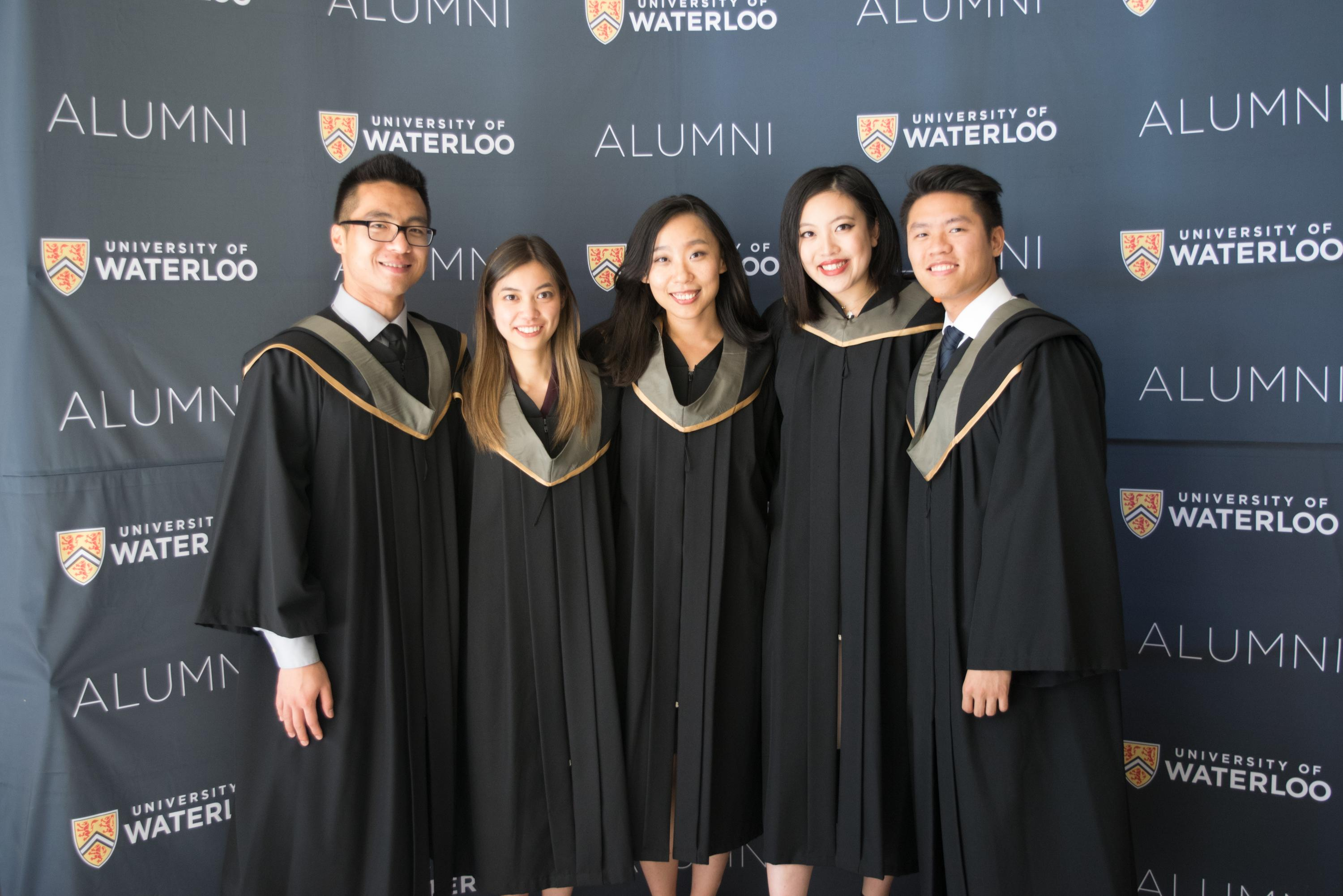 university of waterloo graduate studies application