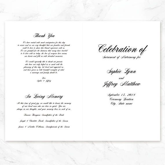 wedding ceremony for spousal application