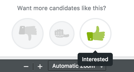 what does candidate mean on a job application