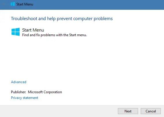 windows 10 application not starting