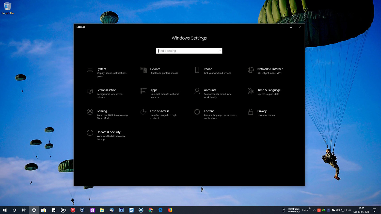 windows 10 run elevated application from command prompt