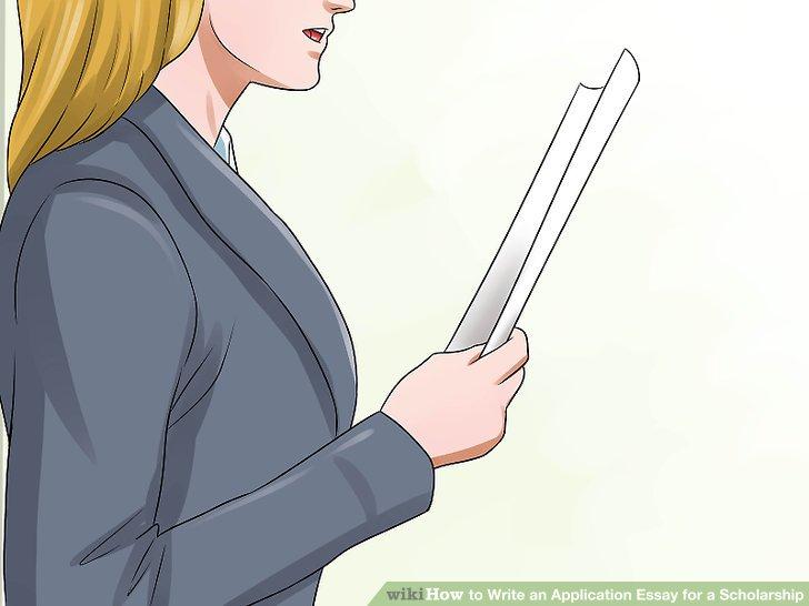 writing an application for a bursary