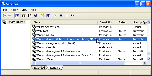 writing to file stop after restart the iis application